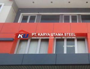 Harga ACP Seven Per Lembar Murah Free Delivery Area Surabaya Minimum Order