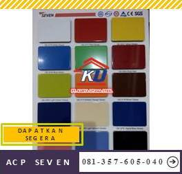 Distributor ACP Seven Murah Ready Warna Snow White PVDF