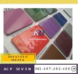 Acp Seven Murah PVDF Dan Pe Warna Doff Ready Stock Ukuran 122 x 244 cm